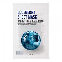 Тканевая маска для лица EUNYUL Purity Blueberry Sheet Mask