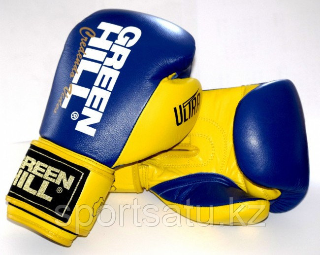 Боксерские перчатки Green Hill Ultra