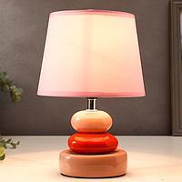 Лампа настольная 16033/1 E14 40Вт 17,5х17,5х26 см