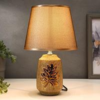 Лампа настольная 16163/1 E14 40Вт серебро 20х20х32,5 см