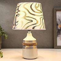 Лампа настольная 16160/1 E14 40Вт белый 20х20х32 см