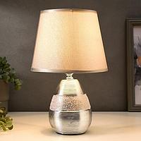 Лампа настольная 16162/1CR E14 40Вт хром 20х20х31,5 см