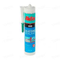 Герметик универсальный силиконовый прозрачный Akfix 100E