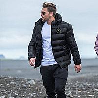 Зимняя спортивная куртка BUTZ темно-синяя L