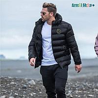 Зимняя спортивная куртка BUTZ темно-синяя XL