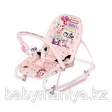 Стульчик-качалка Lorelli Rock Star Розовый / Pink TRAVELLING 2046