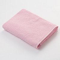 """Полотенце махровое """"Экономь и Я"""" 100х150 см розовый, 100% хлопок, 340 г/м²"""