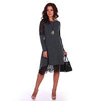 Платье женское «Айова», цвет серо-пихтовый, размер 46