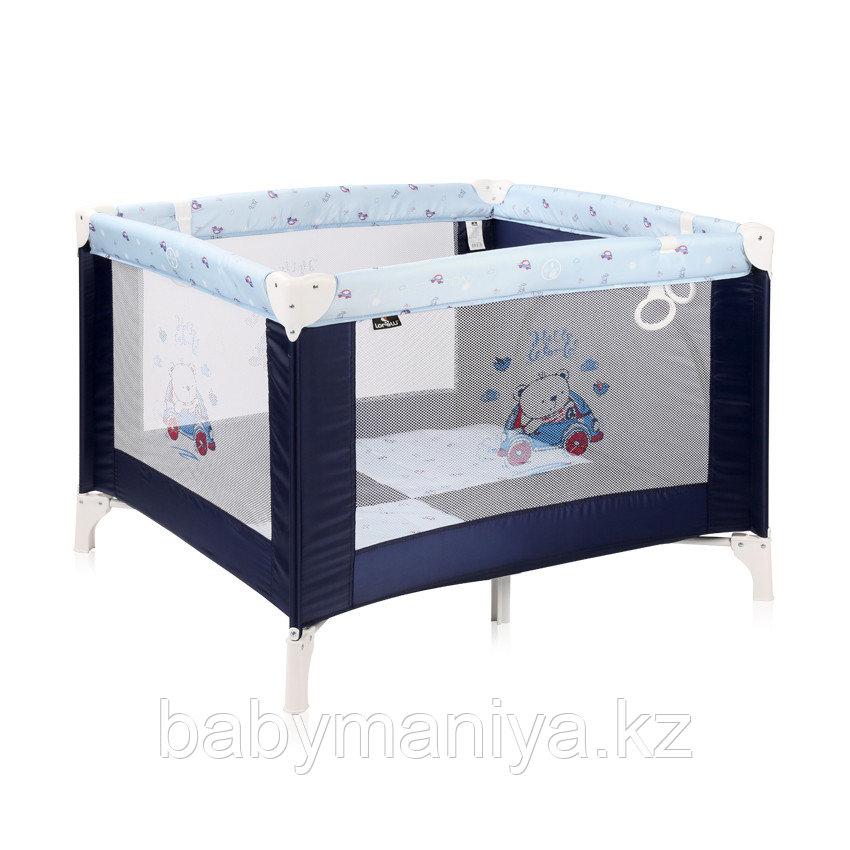 Детский игровой манеж Lorelli Play Station Синий / BLUE BEAR 2072