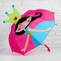 Зонт детский фигурный «Принцесса»