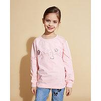 Толстовка для девочки MINAKU «Принцесса», рост 116-122 см, цвет розовый
