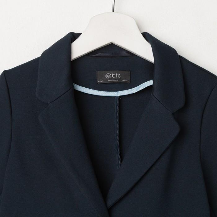 Жакет для девочки, цвет тёмно-синий, рост 134 см - фото 2