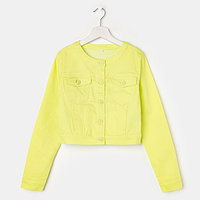 Куртка для девочки, цвет салатовый, рост 164 см