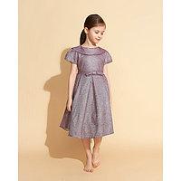 Платье нарядное для девочки MINAKU «Жаклин», рост 110 см, цвет фиолетовый