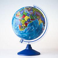 Глобус политический «Классик Евро», диаметр 250 мм, с подсветкой от батареек