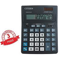 Калькулятор настольный 12-разрядный CDB1201BK, 155 х 205 х 35 мм, двойное питание, чёрный