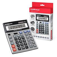 Калькулятор настольный 12-разрядный Erich Krause DC-5512M, серебряный