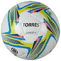 Мяч футбольный TORRES Junior-4, F318234, размер 4, PU, ручная сшивка, 310-330 г