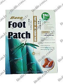 "Бамбуковые пластыри FOOT PATCH на стопы ног  марки  ""HONG"""