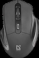 Мышь беспроводная Defender Datum MB-345 Nano B(Черный)