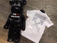 Детские футболки OFF-WHITE со светоотражающим покрытием