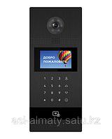 Вызывная видеопанель многоабонентская. Цветная IP камера: 1.3 Мп. Угол обзора 120°.