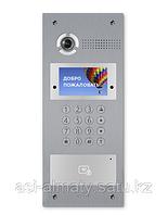 Вызывная видеопанель многоабонентская. Цветная IP камера: 1.3 Мп. Угол обзора 80°.