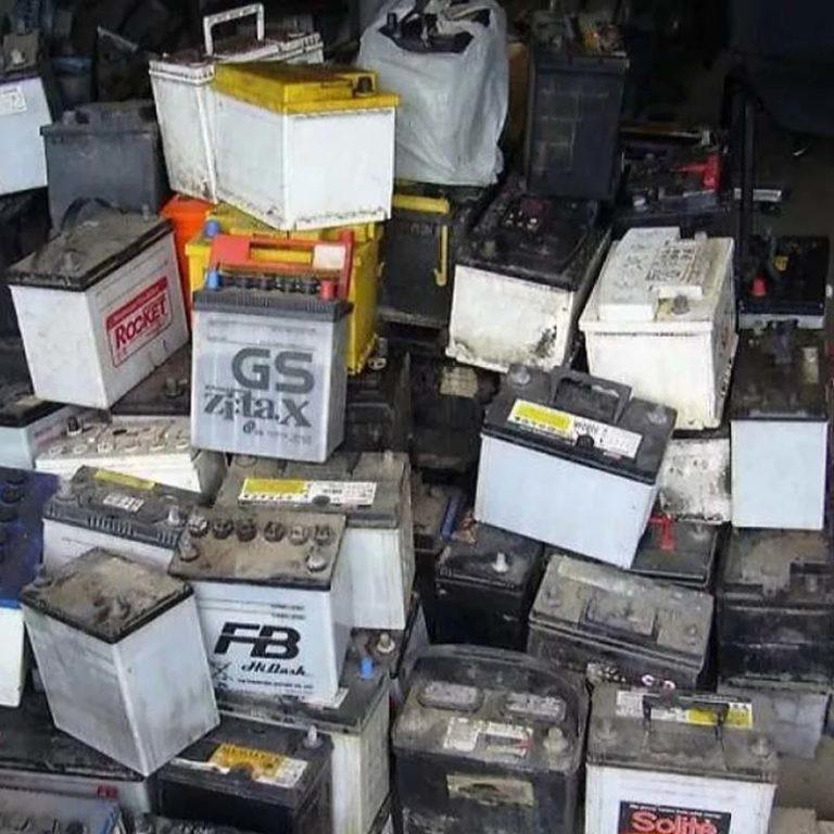 Прием отработавших аккумуляторов