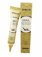 Byanig Snail Anti-Wrinkle Eye Cream - Восстанавливающий крем для кожи вокруг глаз 40 мл