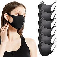 Нано маска Fashion mask черная