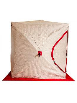 """Палатка Куб """"CONDOR"""" зимняя утепленная, размер 2,00 х 2,00 х 2,20, двухцветная TH-0130"""
