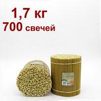 Саровские восковые свечи пачка 700 шт цена от 9 тг за шт