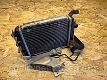 Дополнительный выносной радиатор на Audi A8 D3/4E [рестайлинг]