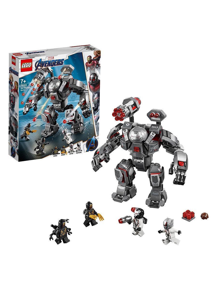 LEGO Super Heroes 76124 Воитель, конструктор ЛЕГО
