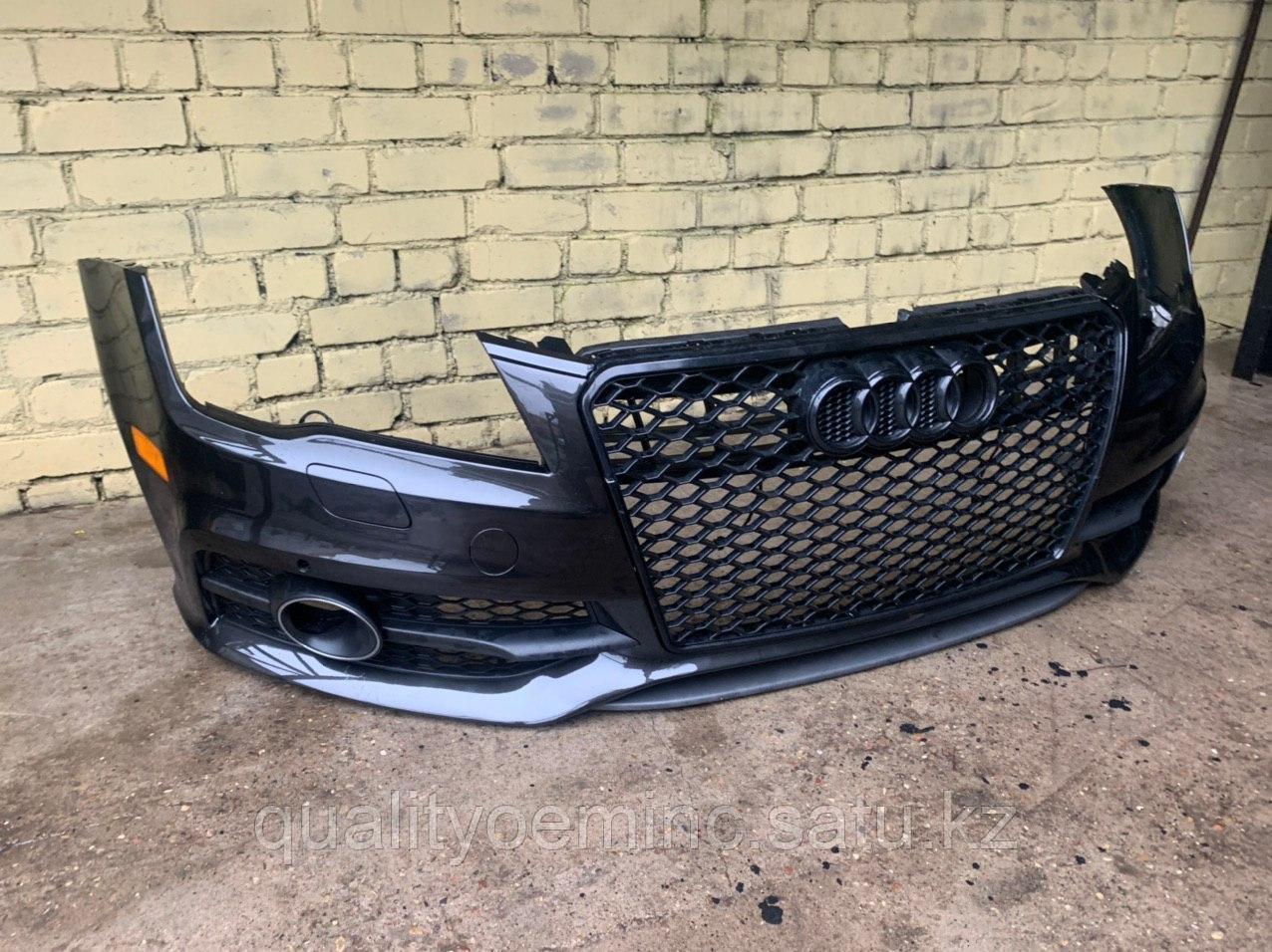 Бампер передний на Audi A7 4G