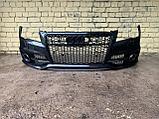 Бампер передний на Audi A7 4G, фото 2