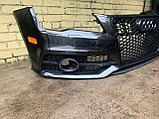 Бампер передний на Audi A7 4G, фото 3