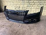 Бампер передний на Audi A7 4G, фото 8
