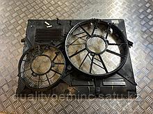 Диффузор вентилятора на Audi Q7 4L