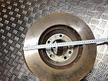 Диск тормозной передний правый на Audi Q7 4L, фото 5
