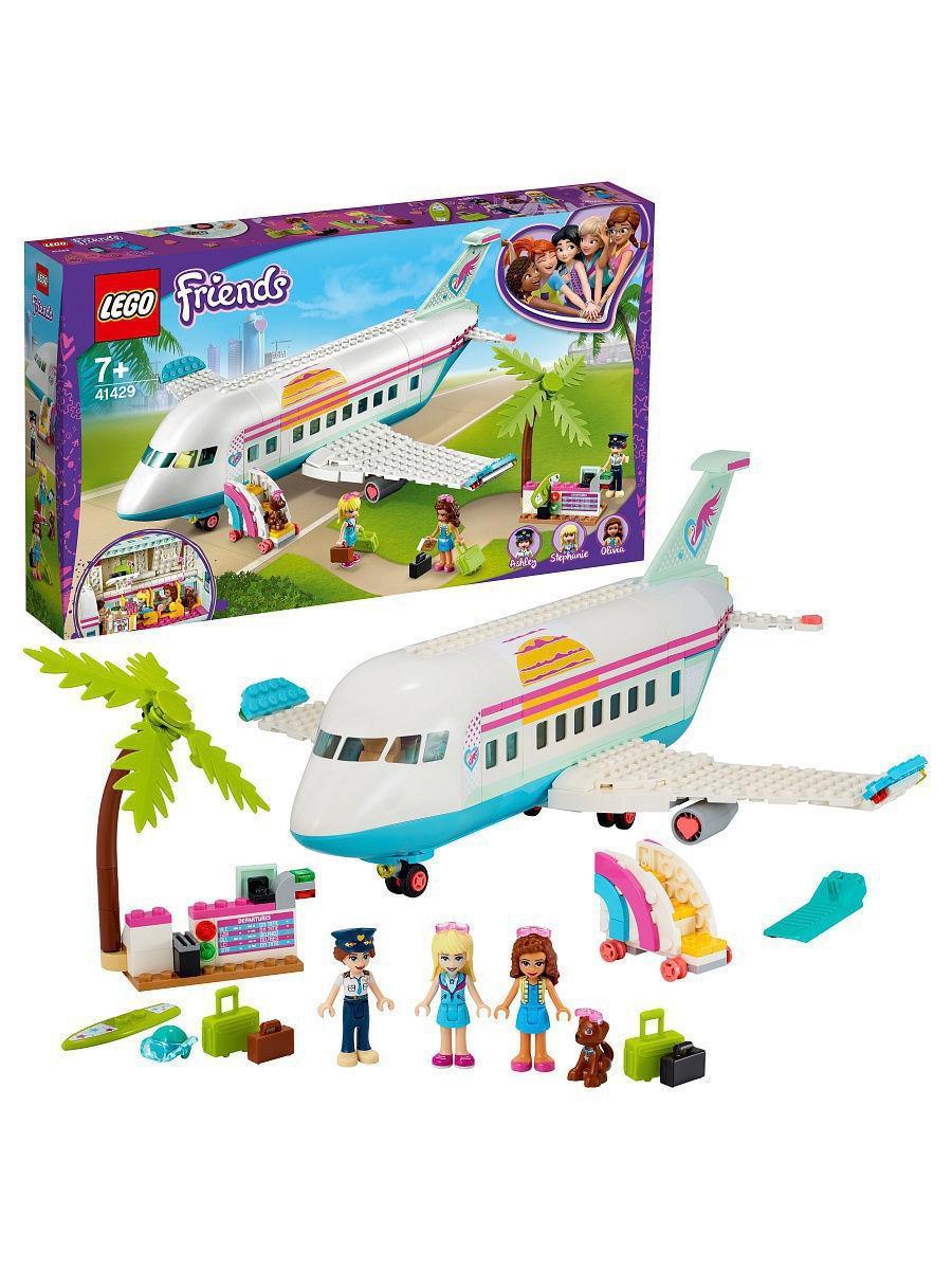 Конструктор LEGO FRIENDS Самолёт в Хартлейк Сити