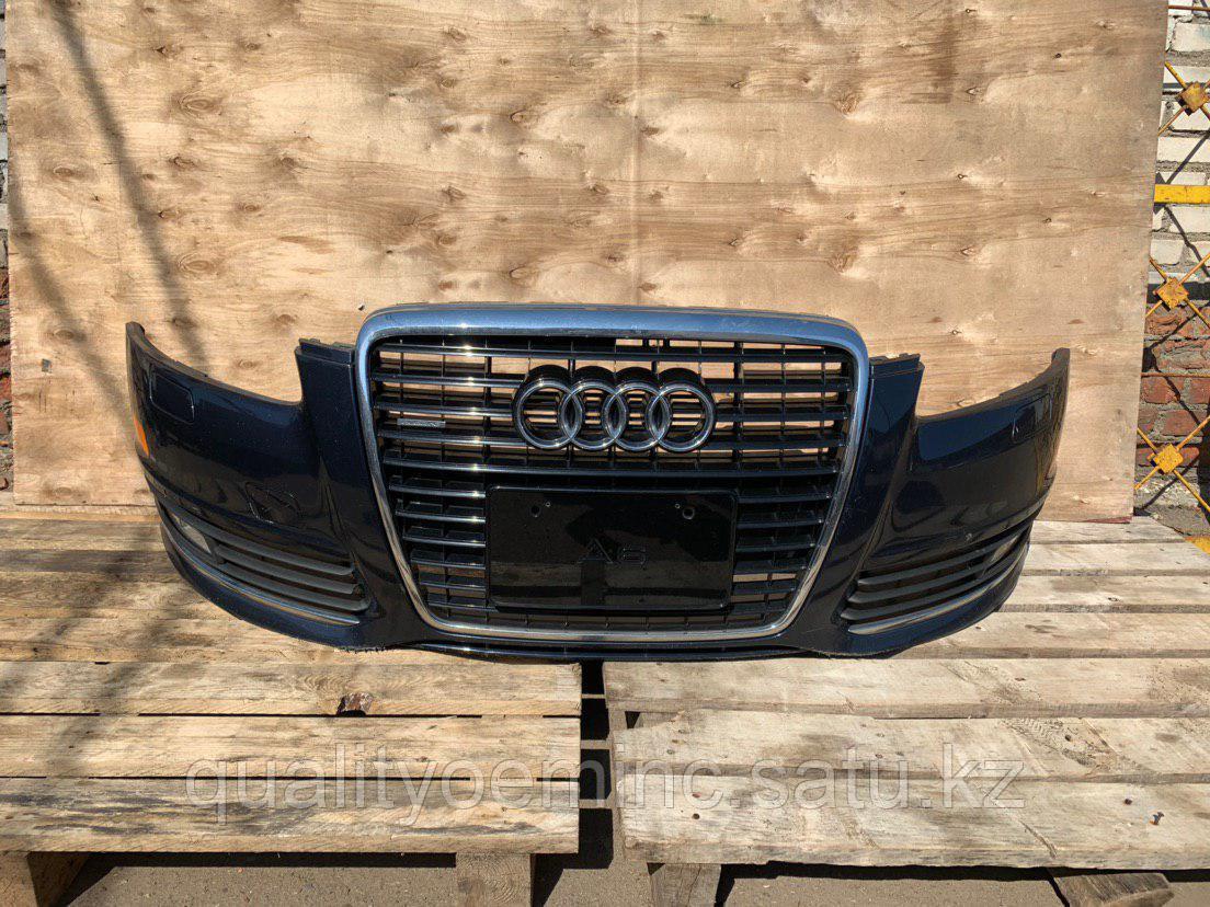 Бампер передний на Audi A6 4F/C6 [рестайлинг]