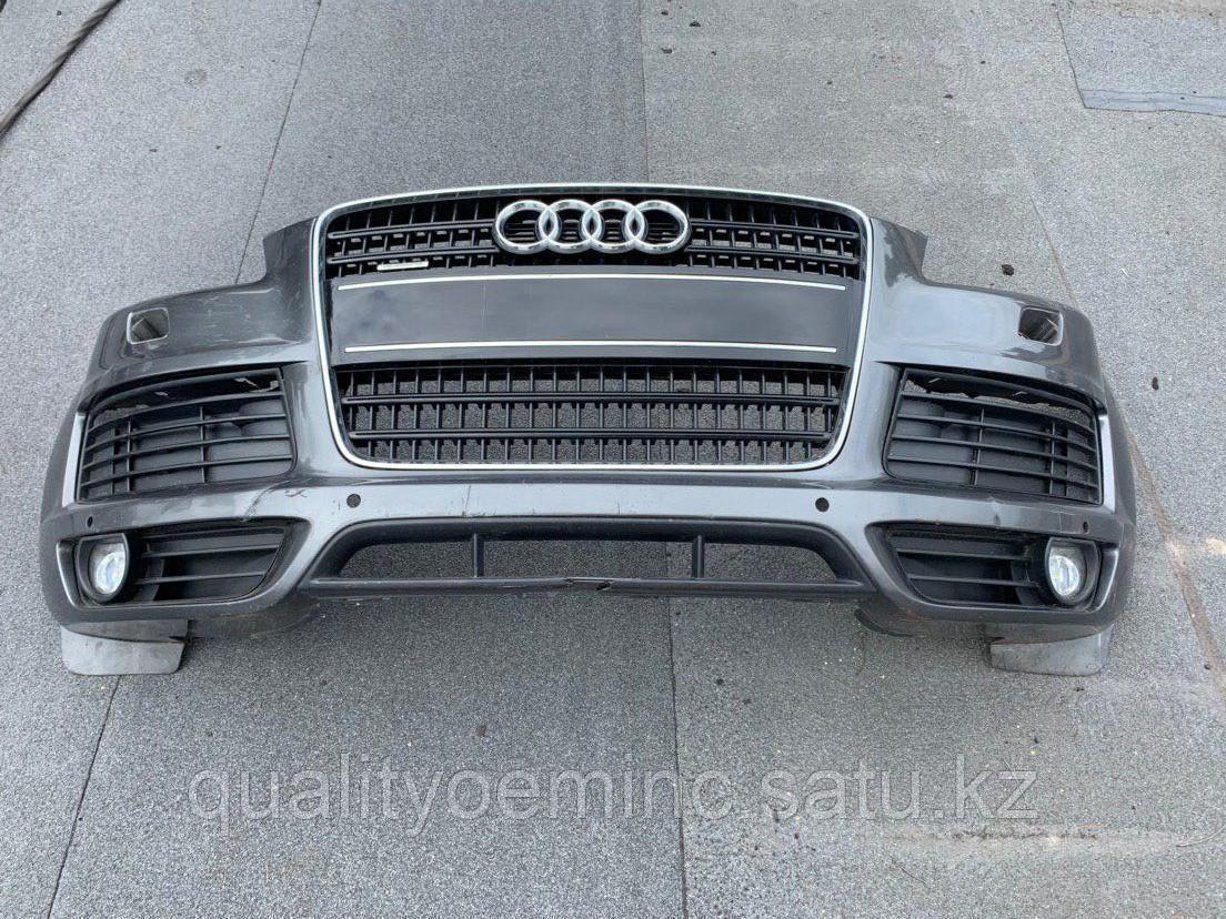 Бампер передний на Audi Q7 4L