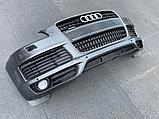 Бампер передний на Audi Q7 4L, фото 2