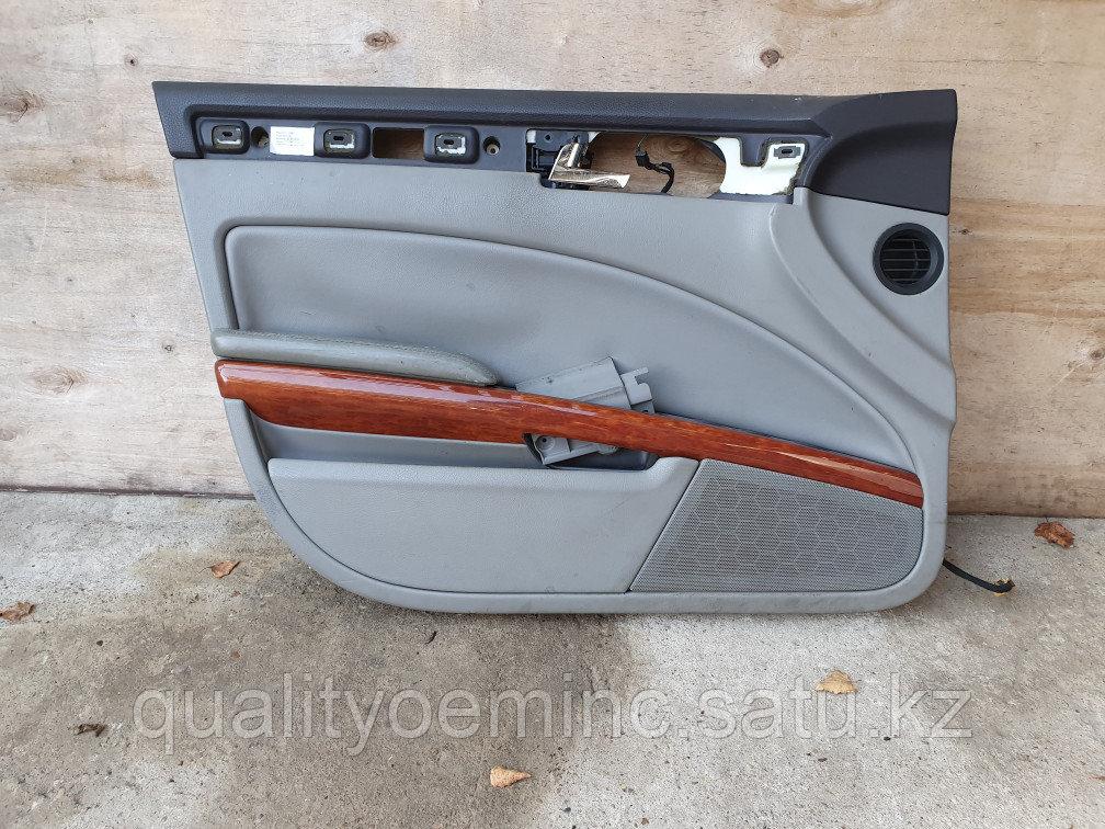 Обшивка двери передней левой на Volkswagen Phaeton 1 поколение