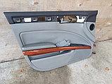 Обшивка двери передней левой на Volkswagen Phaeton 1 поколение, фото 4