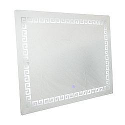 LED109 зеркало 100х80 (внутренняя подсветка) Орнамент