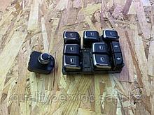 Кнопка стеклоподъемника на Audi Q7 4L