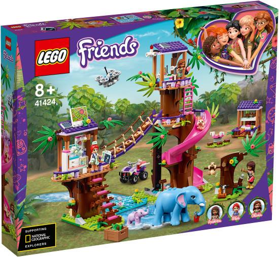 """Конструктор LEGO FRIENDS """"Джунгли: штаб спасателей"""""""