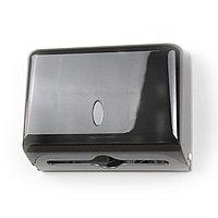 Диспенсер GL135 для Z полотенец пластмассовый черный